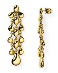 Diane von Furstenberg | Metallic Drop Earrings | Lyst