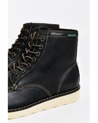 Eastland - Black Lumber Up Moc-toe Boot for Men - Lyst