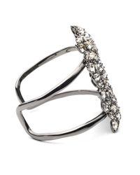 Alexis Bittar | Metallic Empire Pavo Crystal Encrusted Cuff Bracelet | Lyst