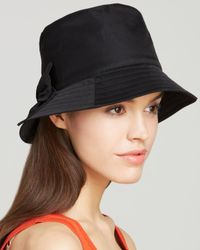 kate spade new york - Black Bucket Hat - Lyst