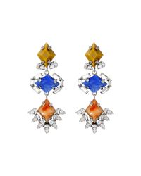 DANNIJO | Multicolor Dayna Earrings | Lyst