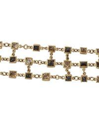 Todd Reed | Metallic Octahedron Diamond Chain Bracelet | Lyst