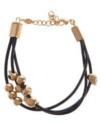 Alexander McQueen - Black Skull Bead Bracelet - Lyst