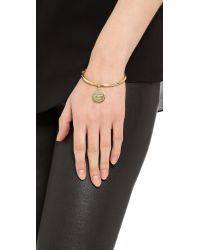 Kate Spade | Metallic Partners in Crime Bangle Bracelet Gold | Lyst