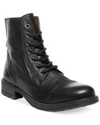 Steve Madden | Black Nathen Boots for Men | Lyst