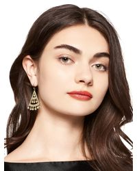 kate spade new york | Metallic Subtle Sparkle Statement Earrings | Lyst