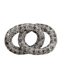 Carolina Bucci | White Diamond Encrusted Bracelet Link | Lyst