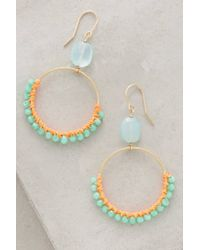 Bluma Project | Blue Rain-ringed Hoops | Lyst
