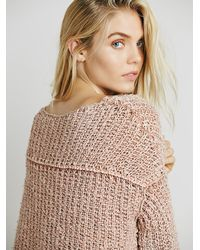 Free People | Natural Womens Dreamweaver Pullover | Lyst