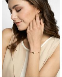 BaubleBar - Metallic Crystal Hamsa Bracelet - Lyst