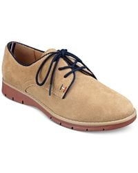 Tommy Hilfiger | Brown Taxi Oxfords | Lyst