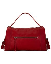 The Sak | Red Mirada Leather Satchel | Lyst