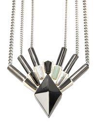 Eddie Borgo - Metallic Horus Necklace - Lyst