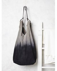 Free People - Gray Yerse Womens Atwood Suede Hobo - Lyst