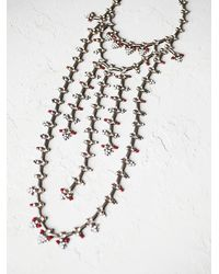 Free People | Metallic Dannijo Womens Philo Statement Necklace | Lyst
