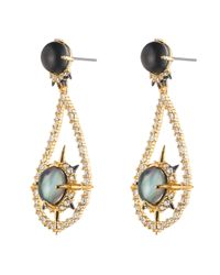 Alexis Bittar | Metallic Small Crystal Hoop Post Earring You Might Also Like | Lyst