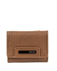 Kenneth Cole Reaction | Brown Never Let Go Multifunction Flap Wallet | Lyst