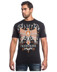 Affliction - Black Tried Fate T-shirt for Men - Lyst