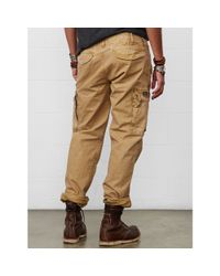 Denim & Supply Ralph Lauren - Natural Slim-fit Field Cargo Pant for Men - Lyst