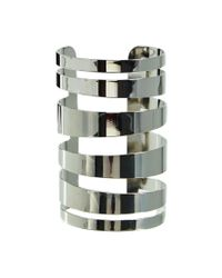 ASOS | Metallic 90S Bar Cuff Bracelet | Lyst