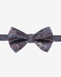 Ted Baker - Blue Silk Paisley Bow Tie for Men - Lyst