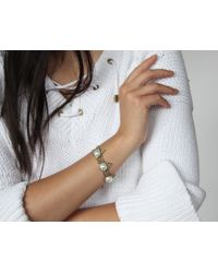 Jenny Bird - Metallic Aurora 14K Gold-Plated Bracelet - Lyst