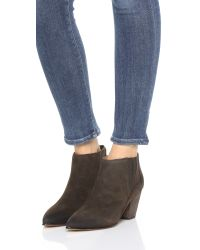 Belle By Sigerson Morrison - Brown Young Booties - Taos - Lyst