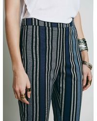 Free People | Black Womens Yard Stripe Mod Crop | Lyst
