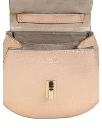 Chloé - Drew Nano Metallic Leather Shoulder Bag - Lyst