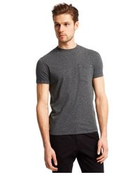 Kenneth Cole Reaction | Gray Nep Pocket T-shirt for Men | Lyst