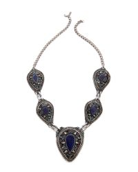 Vanessa Mooney | Multicolor The Izusa Necklace - Lapis Multi | Lyst