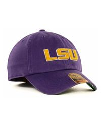 47 Brand | Purple Lsu Tigers Ncaa '47 Franchise Cap for Men | Lyst