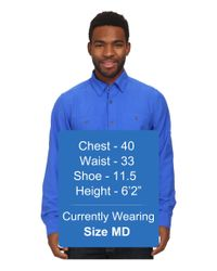 Under Armour | Blue Ua Chesapeake L/s Shirt for Men | Lyst