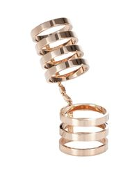 Repossi - Metallic Women's Berbere Cage Ring - Lyst