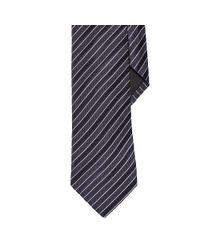 Ralph Lauren Black Label - Blue Striped Silk Tie for Men - Lyst