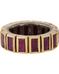 Nak Armstrong | Purple Baguette Ring | Lyst