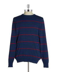 Ben Sherman | Blue Cotton Crewneck Sweater for Men | Lyst