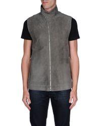 Rick Owens - Gray Jacket for Men - Lyst