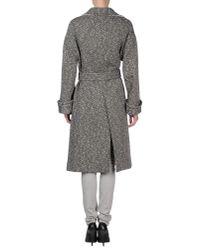 Balenciaga | Black Coat | Lyst