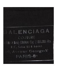 Balenciaga - Black Classic Cotton Sweatshirt - Lyst