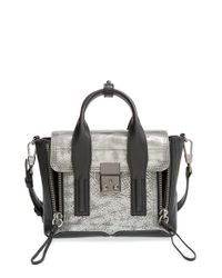 3.1 Phillip Lim | Black 'mini Pashli' Leather Satchel | Lyst