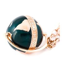 True Rocks   Green Large Globe Pendant Necklace   Lyst