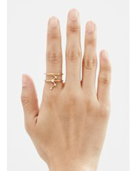 Sophie Bille Brahe - Metallic Gold/diamonds Cassiopeia Ring - Lyst