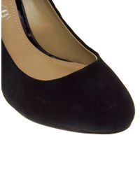 ALDO - Stever Black Heeled Shoe - Lyst