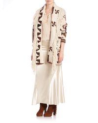 Polo Ralph Lauren - Natural Luxe Silk Satin Skirt - Lyst