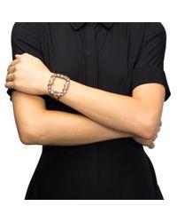 Lulu Frost - Metallic Mae Bracelet - Blush - Lyst