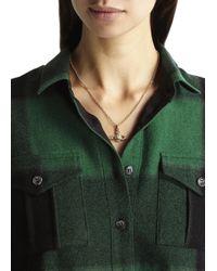 Vivienne Westwood | Metallic Mini Bas Relief Gold Tone Necklace | Lyst