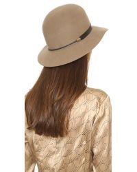 Rag & Bone - Multicolor Faye Cloche Hat - Lyst