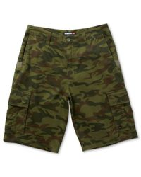 Quiksilver | Green Measure Cargo Shorts for Men | Lyst