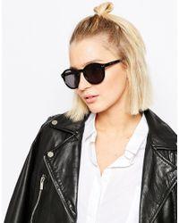 Cheap Monday | Black Circle Sunglasses | Lyst
